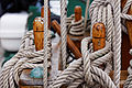 Knots on a sail boat