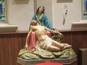 The Pieta, St. Mary of the Immaculate Conception Church