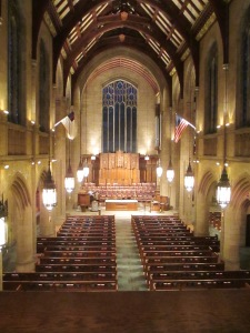 Interior, First Presbyterian Church of the Covenant, Erie, PA