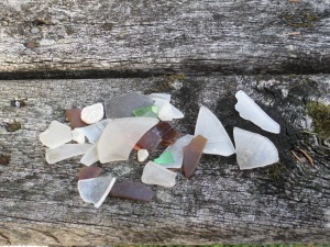 Beach Glass from an October search