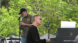 Bruce Hornsby at the Wanee Festival, 2012 by  Mark Johnson, Blue Ridge, SC via Wikimedia Commons