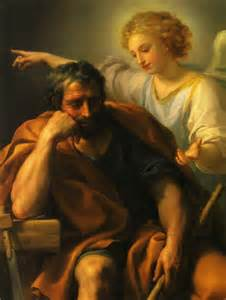 The Dream of Saint Joseph by Anton Raphael Mengs. 1773-4