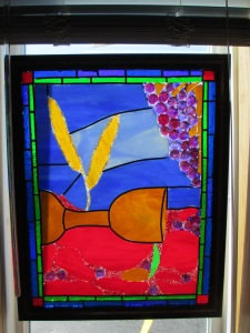 Window in Greenville Alliance Church Sanctuary, Greenville, PA